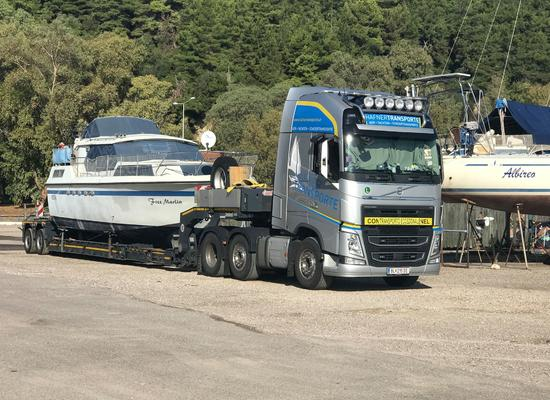 Yachttransport in Europa | Hafner Transporte